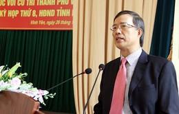 Cách chức nguyên Bí thư Tỉnh ủy Vĩnh Phúc Phạm Văn Vọng