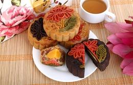 Độc đáo bánh Trung thu hoa