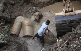 Phát hiện 2 tượng Pharaoh niên đại hơn 3.000 năm trước tại Cairo
