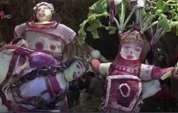 Thú vị lễ hội củ cải tại Mexico