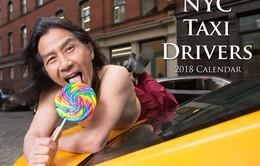 Tài xế taxi New York làm người mẫu ảnh lịch