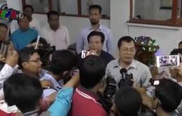 Đảng đối lập Campuchia bất ngờ rút khẩu hiệu tranh cử