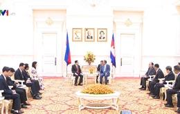 Việt Nam coi trọng quan hệ láng giềng với Campuchia