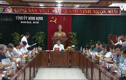 Kiểm tra công tác cán bộ tại Bình Định