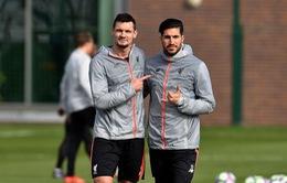Liverpool đón cặp đôi trụ cột trở lại sau chấn thương