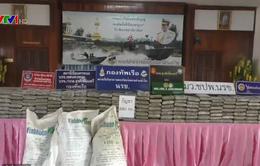 Thái Lan bắt đối tượng buôn lậu cần sa nén
