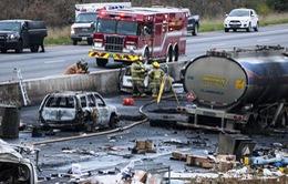 Tai nạn liên hoàn ở Canada, ít nhất 3 người thiệt mạng