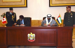 Canada và UAE đẩy mạnh hợp tác quốc phòng