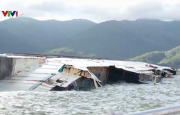 Thông luồng tạm thời ra vào cảng Quy Nhơn
