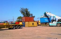 Đấu giá 21 container thuốc lá bị tạm giữ tại cảng Quy Nhơn