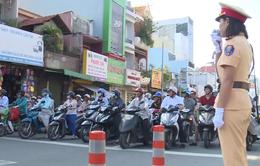 TP.HCM: CSGT phát loa tuyên truyền giao thông