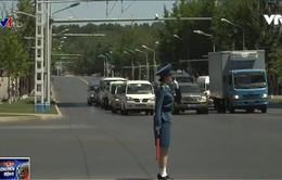 Nữ cảnh sát giao thông Triều Tiên - gương mặt đại diện cho thủ đô Bình Nhưỡng