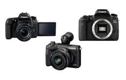 Canon trình làng 3 mẫu máy ảnh mới với mức giá tầm thấp