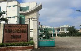 Kỷ luật cảnh cáo Hiệu trưởng trường Cao đẳng nghề Quảng Nam
