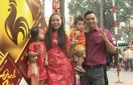 Du xuân cùng gia đình VĐV Cao Ngọc Hùng