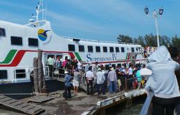 Tàu cao tốc ra Phú Quốc và Nam Du (Kiên Giang) hoạt động trở lại