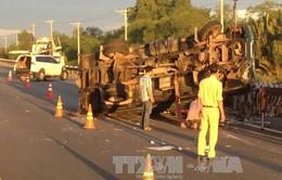 Lại xảy ra tai nạn trên cao tốc TP.HCM - Long Thành - Dầu Giây