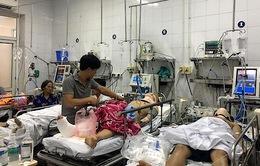 BV Việt Đức quá tải bệnh nhân tai nạn giao thông dịp nghỉ lễ