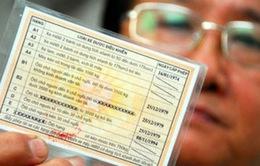 Chính thức bỏ quy định đổi giấy phép lái xe sang thẻ PET