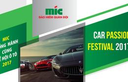 Car Passion Festival 2017 có sự góp mặt của Bảo hiểm Quân đội MIC