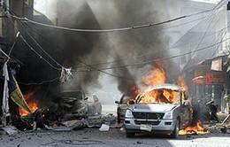 IS nhận tiến hành đánh bom xe bên ngoài trụ sở Bộ Tài chính Yemen