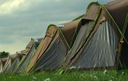 Cardiff mở những khu lều trại phục vụ CĐV xem chung kết Champions League