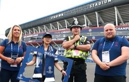 Không khí UEFA Champions League tại thành phố Cardiff