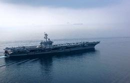 Tàu sân bay Mỹ Carl Vinson vào biển Nhật Bản tập trận chung
