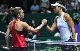 Bảng Đỏ WTA Finals 2017: Simona Halep khởi đầu suôn sẻ