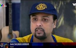 Ngôi sao ca nhạc giúp nâng cao nhận thức về bệnh bại liệt tại Pakistan