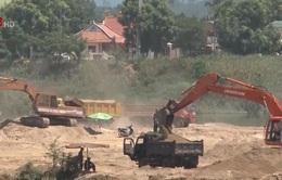 Quảng Ngãi: Dừng cấp phép dự án tận thu cát nhiễm mặn