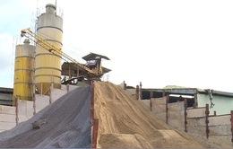 Việt Nam có thể hết cát xây dựng vào năm 2020