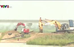 Phú Yên tổ chức giám sát tình hình khai thác cát trên sông Ba