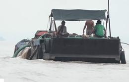 """Tiền Giang kiên quyết đẩy lùi """"cát tặc"""""""