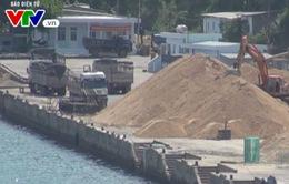 Phú Yên: Xử lý 4.500 m3 cát tập kết tại cảng Vũng Rô