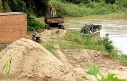 Hà Nội xử lý nghiêm hành vi khai thác cát trái phép