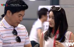 Đóng phim Hàn Quốc, ngay cảnh đầu Nhã Phương đã tình tứ bên người đàn ông có vợ con