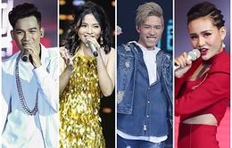 Giọng hát Việt 2017: Xác định top 4 vào chung kết