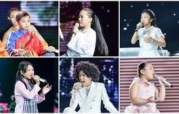 Chân dung 6 thí sinh sẽ tranh tài ở Bán kết Giọng hát Việt nhí 2017