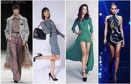 """Bộ tứ chân dài Vietnam's Next Top Model """"rủ nhau"""" đến Bữa trưa vui vẻ"""