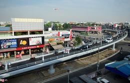 TP.HCM: Thông xe nhánh cầu vượt ngã sáu Gò Vấp