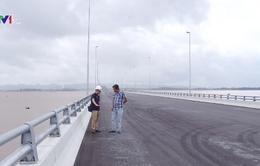 Xử lý những khiếm khuyết tại cầu vượt biển dài nhất Việt Nam