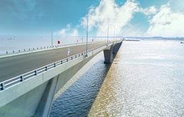 Sắp khánh thành cầu vượt biển dài nhất Việt Nam