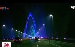 Cầu Nhật Tân xuất hiện trên Instagram của ông Donald Trump