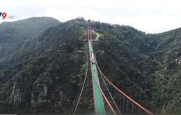 Chiêm ngưỡng cầu treo đi bộ dài nhất thế giới