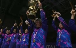 ĐT Hàn Quốc vô địch Giải cầu lông Surdiman Cup 2017