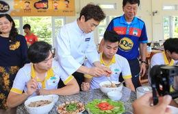 CLB Hoàng Anh Gia Lai nâng cao chế độ dinh dưỡng cho cầu thủ