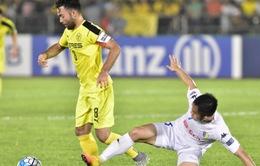 AFC Cup: Samson nhận thẻ đỏ, CLB Hà Nội thua đậm trên sân CLB Ceres