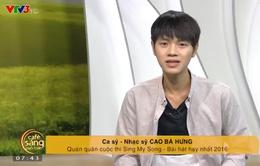 """Cao Bá Hưng chia sẻ về tình đầu """"gà bông"""" trên sóng Truyền hình"""