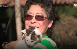 Café Sáng với VTV3: Choáng! Người phụ nữ lấy 390m2 đất nuôi mèo hoang